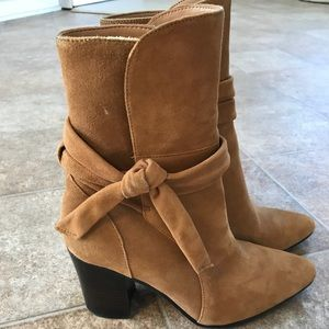 Banana Republic Brown Suede Boots